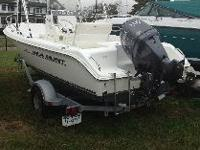 2006 SEA HUNT 186 TRITON CC, BOAT/MOTOR/TRAILER