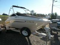 2006 Sea Ray 185 Sporting activity v6 with tower -