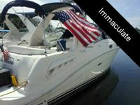 - Stock #49528 - This 2006 Sea Ray 260 Sundancer is
