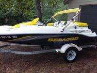 2006 Seadoo Sportster super charged jet boat like new