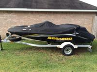 2006 Seadoo Sportster 4Tec. It has the supercharged