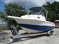 ,,,..//2006 SEAFOX 257 WA WITH HARD TOP. THE ENGINE HAS
