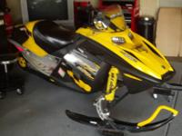 I have a 2006 Ski Doo 500ss for sale. I just bought a