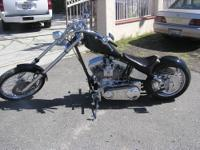2006 SPCN Chopper with 500 miles, Black and all