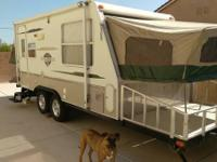 2006 Starcraft Travel Star 19 SD Toy Hauler . Length