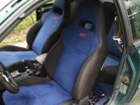 Up for sale is a set of seats out of a 2006 Sti with