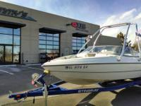 Great lightly utilized 2006 Sting Ray 180 RX with the
