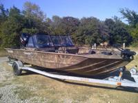 Bass boat for sale. 1 owner, 2006 Stratus 294 Pro XL,