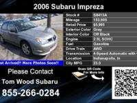 Call Tom Wood Subaru at . Stock #: S8413A. VIN: