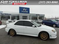 WRX STi trim. All Wheel Drive, CD Changer, Aluminum
