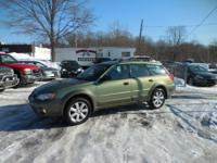 2006 SUBARU OUTBACK AWD AUTOMATIC, POWER WINDOWS, POWER