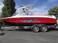 This 2006 Super Air Nautique 220 is nicely loaded with