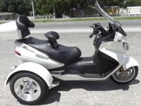 2006 SUZUKI BURGMAN 650CC TRIKE ONLY 8975 MILES ON IT