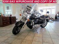 2006 KAWASAKI VULCAN 1600, CHROME, BLACK AND MORE