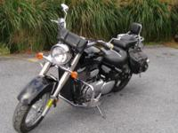 This is one very clean Suzuki C50 traded in from my