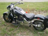 06 Suzuki boulevard dark blue and charcoal grey ( two