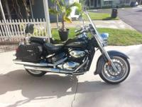 2006 Suzuki Boulevard C50T. Good Condition 21K Included