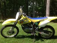 Up for sale is a Suzuki DRZ 125L dirt bike. My son no