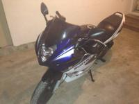 I have a 2006 Suzuki GS500F for sale with low mileage