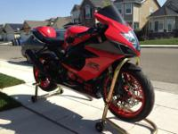 2006 Suzuki GSX-R 1000 with a clean title (pink slip in