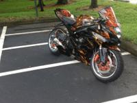 2006 GSXR 1000. This bike is among a kind with many