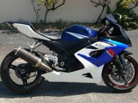 2006 Suzuki GSX-R1000 2006 GSX-R1000 In 2005 the
