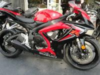2006 Suzuki GSX-R600 ONLY 3142 MILES FLAWLESS It