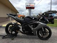 Develop the 2006 Suzuki GSX-R600. A bike with the type