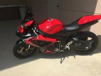 Time to sell the BEAST! 2006 Suzuki GSX-R 7,649