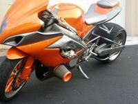 ENGINE:GSXR 1000 ENGINE, FROGED LOW COMPRESSION PISTON,
