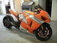 2006 Suzuki 1300RR Hayabusa Custom paint 300 Fat tire