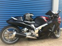 his is a 2006 Suzuki Hayabusa. It is spick-and-span