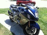 2006 Suzuki Hayabusa in Excellent Condition- - Blue and