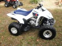 2006 Suzuki LTZ-250, White, Electric Start, Reverse,