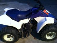 2006 SUZUKI LTZ-400K6 5-speed with reverse 2ND OWNER