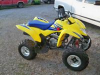 I have 2006 Suzuki quadsport z250, I am asking