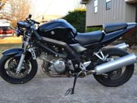 I have for sale a lately restored 2006 SV1000s. This