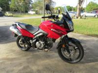 2006 Suzuki V Strom 650 Adventure touring motorcycle-
