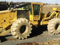 2006 Tigercat Skidder, 9,000 hours, 60 tread, tight