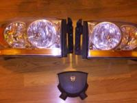 Dodge truck front head lights and driver side air bag I