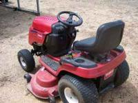 This mower is in pretty good shape except for the