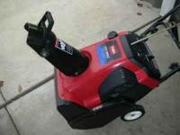 TORO CCR3650 SNOWTHROWER 2006 GREAT SHAPE GREAT PADDLES