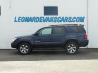 Options:  2006 Toyota 4Runner Limited|3Rd Row Seat|Jbl