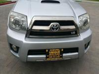 Options:  2006 Toyota 4Runner Sport Edition 4Dr Suv
