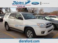 Natural White 2006 Toyota 4Runner SR5 4WD 5-Speed