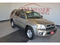 We are excited to offer this 2006 Toyota 4Runner. How