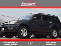 Options:  2006 Toyota 4Runner Sr5 4X4|Shadow