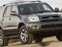 Options:  2006 Toyota 4Runner|Barcelona Red