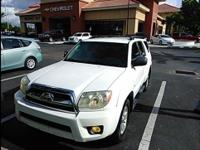 Natural White 2006 Toyota 4Runner RWD 5-Speed Automatic