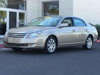 New Price! Desert Sand Mica 2006 Toyota Avalon FWD 3.5L